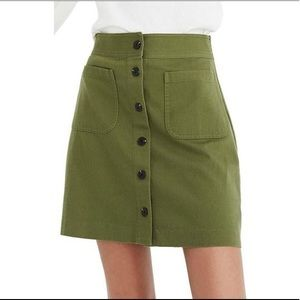 Madewell Station Skirt